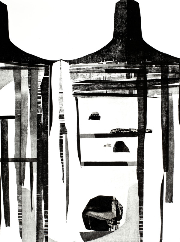 Rock   Salt + Wonder (III) by Emma Jane Royer