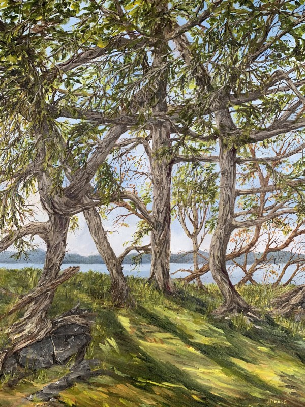 The Trees are Dancing and I'm Singing by Jennifer Peers