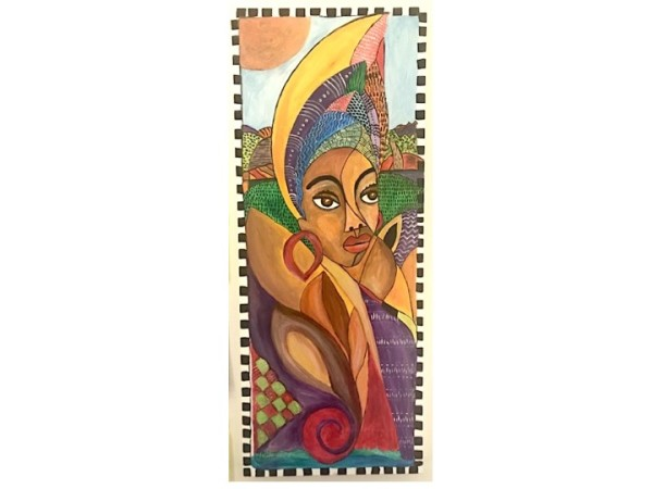 Vivian - canvas prints 40 x 18 $187 incl s/h in US only by Brian Ragsdale