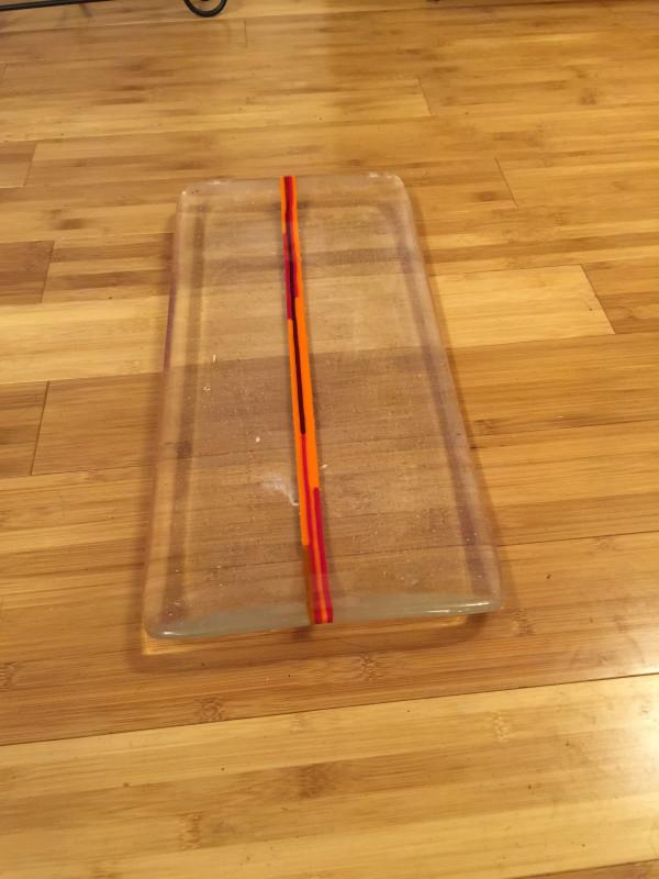 Horizon Platter by teak elmore
