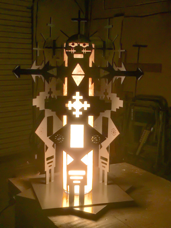 Texas Triple Totem by teak elmore