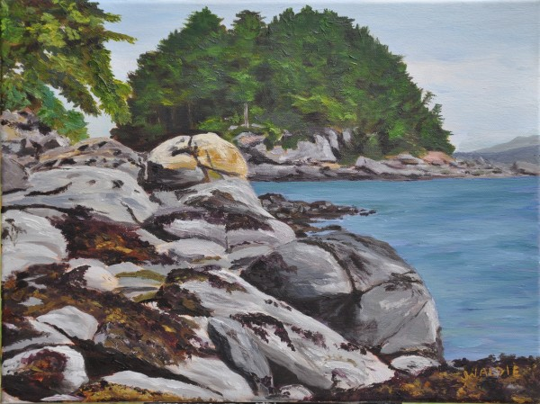 Rocky Shore by Jody Waldie