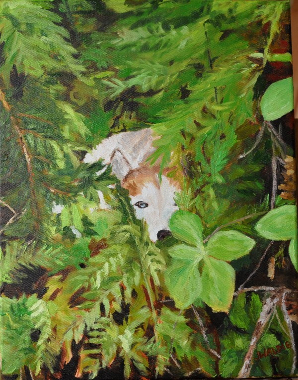 Red in the Greens by Jody Waldie