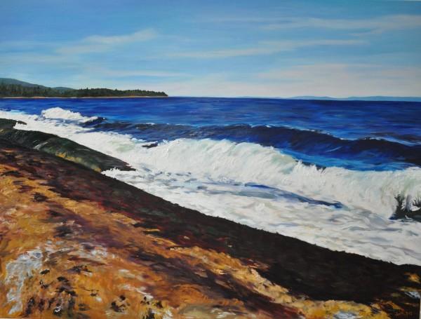 Georgia Strait by Jody Waldie