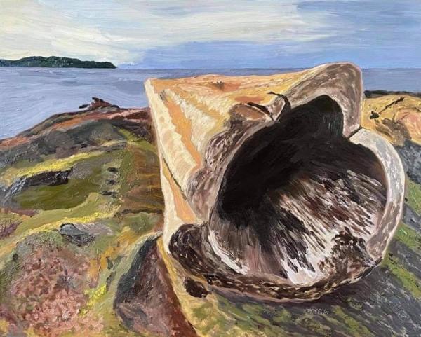 The People's Log by Glenda King