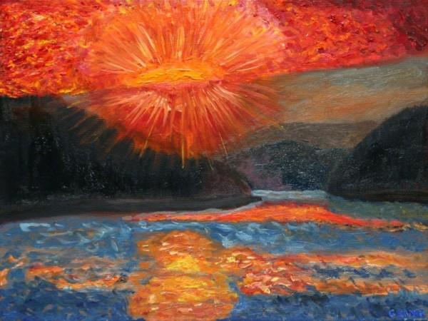 Evening Burning Desire by Glenda King