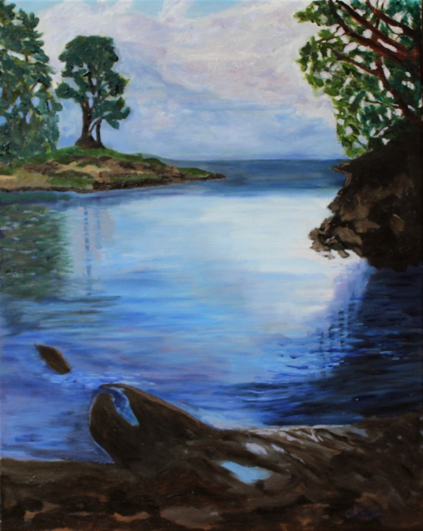 Peace at the Cove by Glenda King