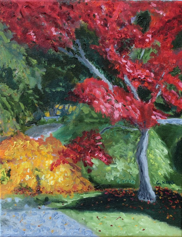 Blazing Red by Glenda King