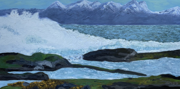 Roaring Reef Bay by Glenda King
