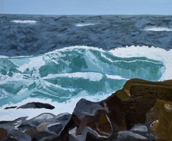 Winter Blue by Glenda King