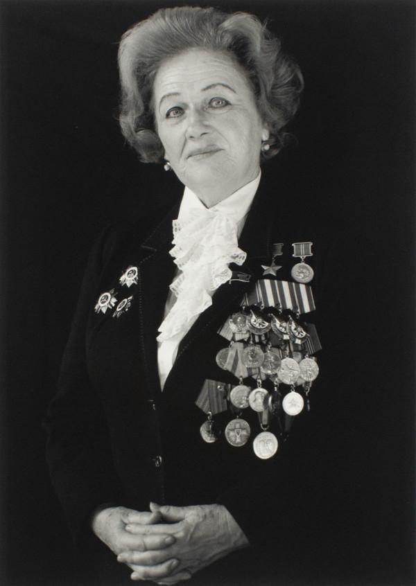 Liutenant Nadezhda Popova, Pilot, Hero of the Soviet Union 1990 46th Bomber Regiment, Soviet Army... by Anne Noggle