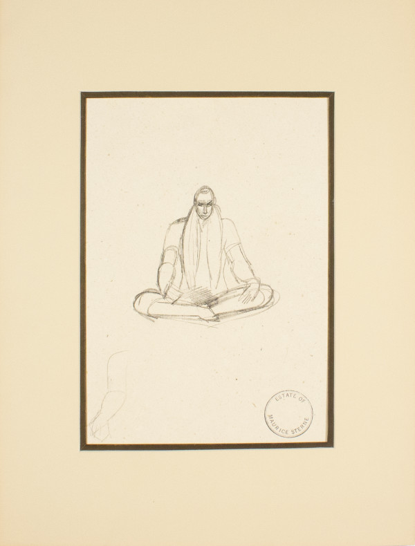 (Lotus Posture) by Maurice Sterne