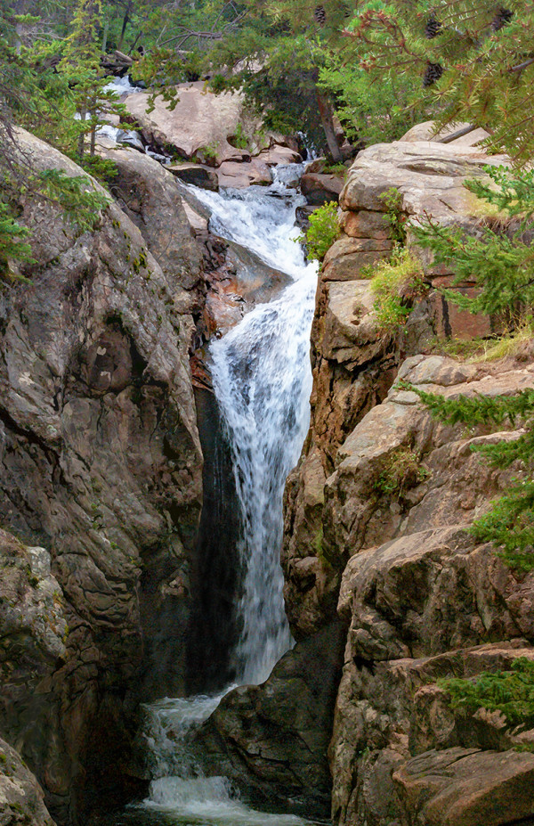 Chasm Falls, Afternoon #2 by Rodney Buxton