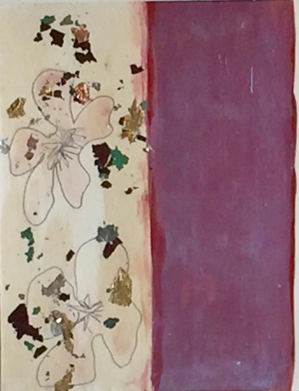 Two Flowers, Two Stripes by Sherri Silverman