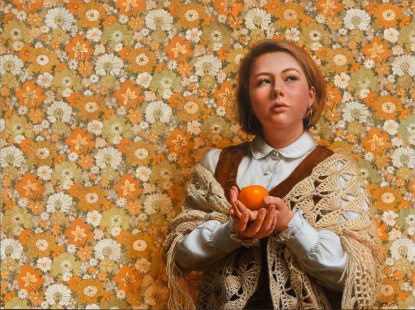Bury me with a mandarin by Narelle Zeller
