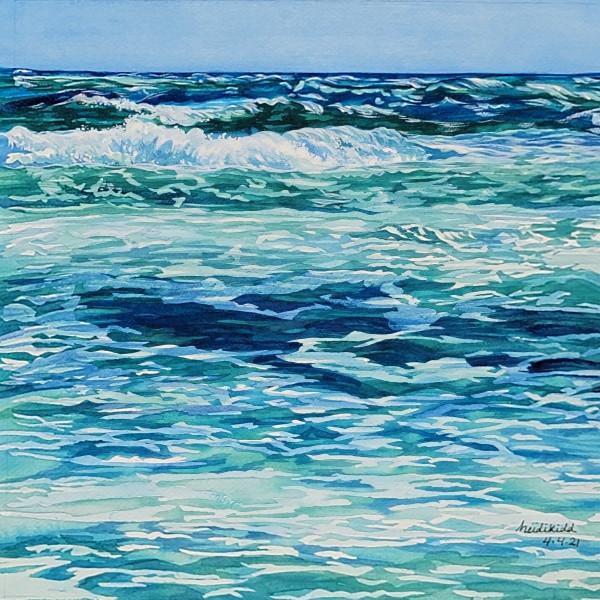 Ocean Blue by HEIDI KIDD