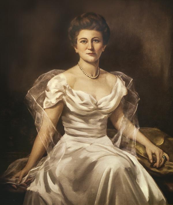 Portrait of Lettie Pate Whitehead Evans by William Steene