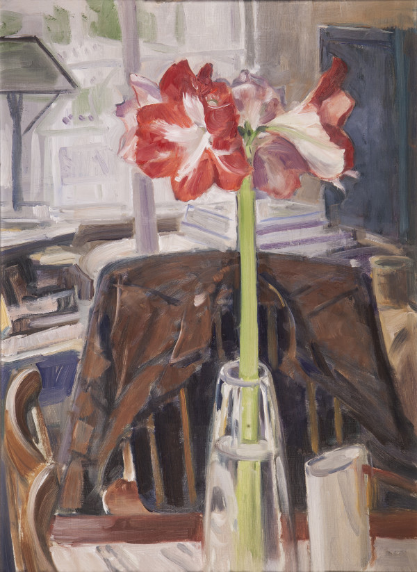 Red Amaryllis by Richard Crozier