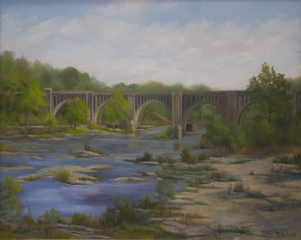 Peaceful Afternoon on the James by Barbara Nelson