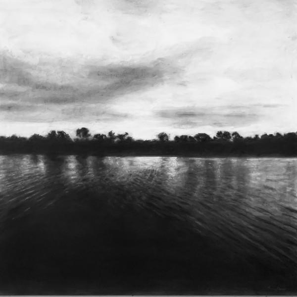 Lake Orange Sunrise  4/29/20  36.1542N 79.1493W by Thomas Stevens