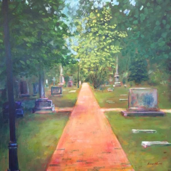 St Matthews Cemetery   36.07657N 79.094589W by Thomas Stevens