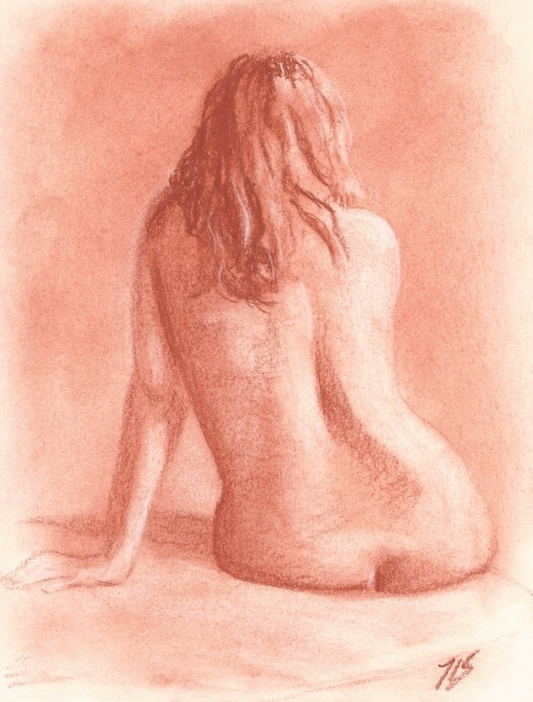 Nude Study by Thomas Stevens