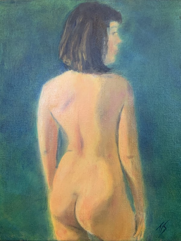 Nude Study by Thomas Stevens