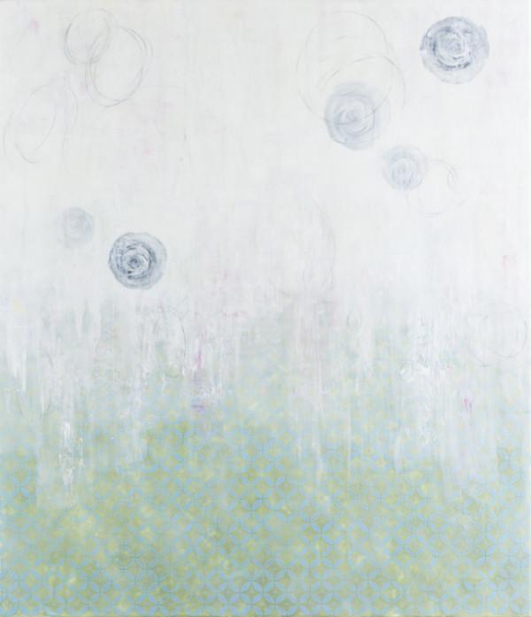 Falling Flowers #4 by Deborah Llewellyn