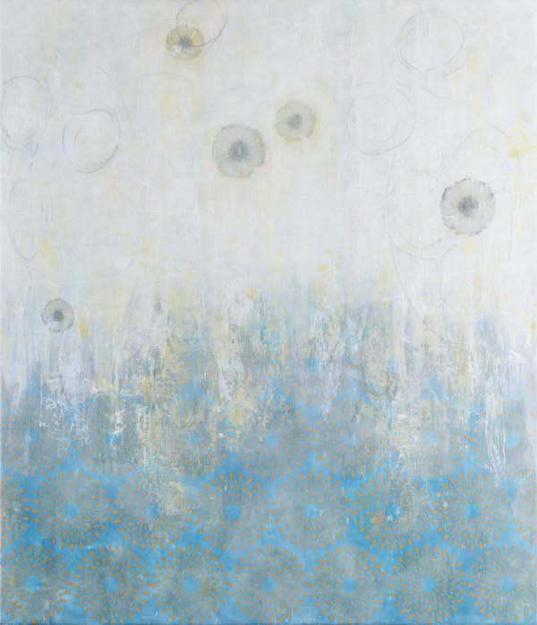 Falling Flowers #5 by Deborah Llewellyn
