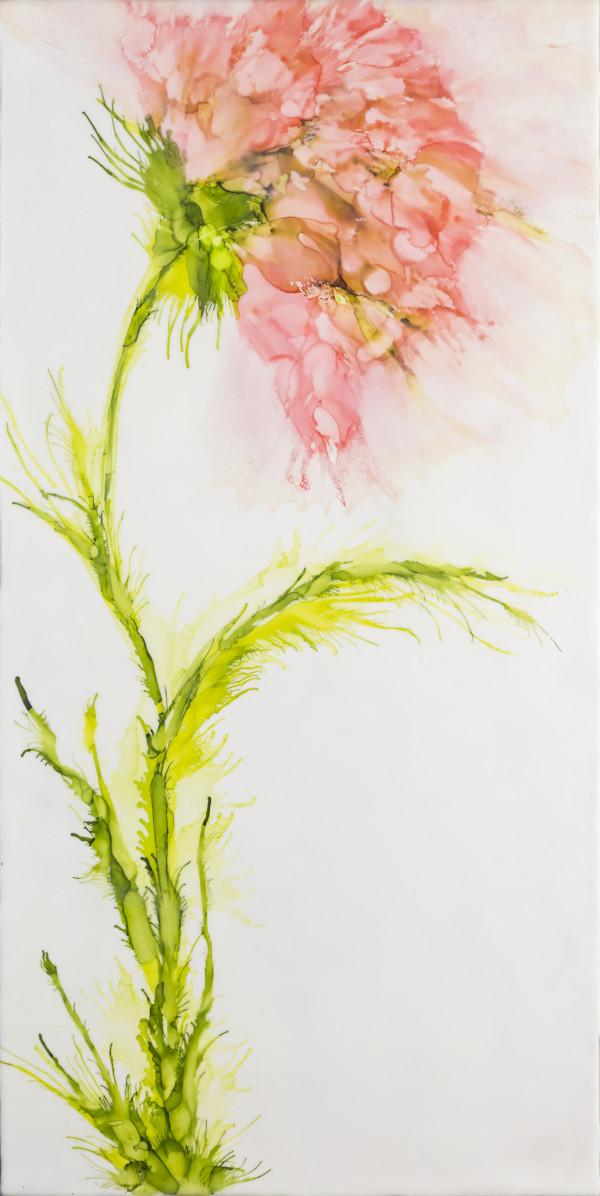 Pink Long Legs by Deborah Llewellyn