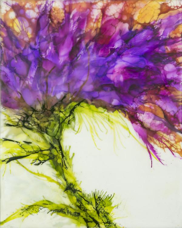 Purple Nectar by Deborah Llewellyn