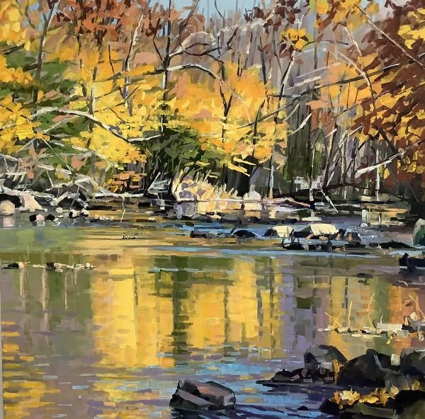 French creek symphony by Elaine Lisle