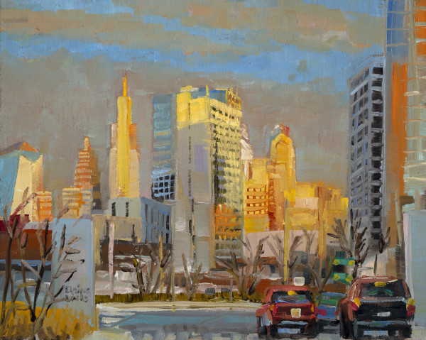 Twilight from 38th Street by Elaine Lisle