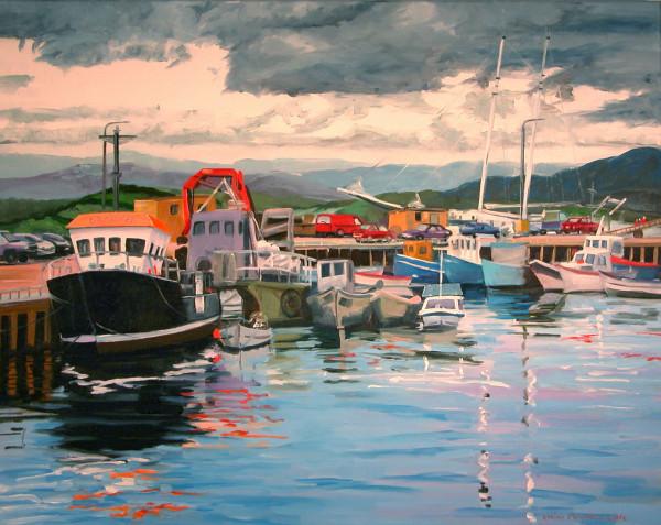 Bantry Boats by Elaine Lisle