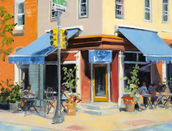 Lutecia Cafe by Elaine Lisle