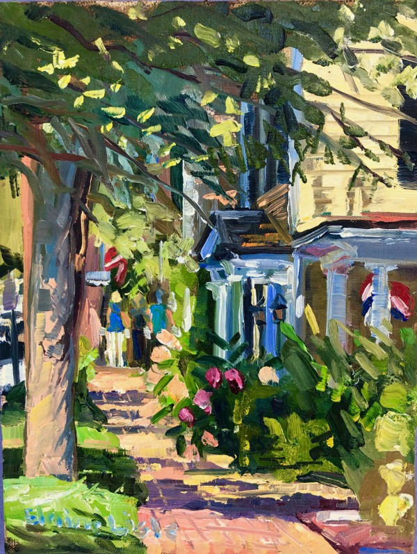 Afternoon Stroll Carpenter Street by Elaine Lisle