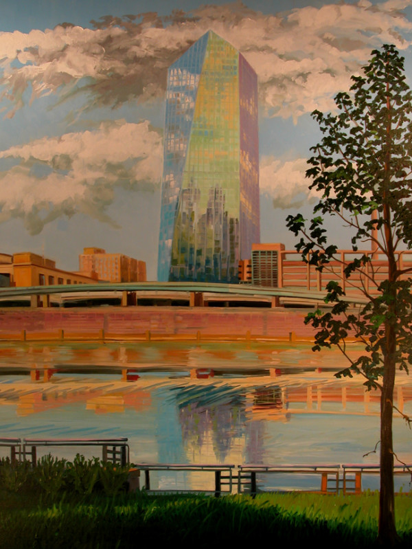 Cira Center Morning by Elaine Lisle