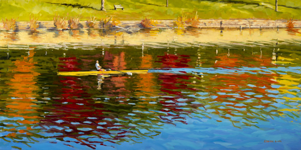 Colors in the River by Elaine Lisle