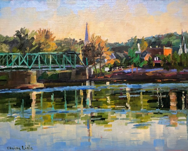 Early Morning View from New Hope by Elaine Lisle