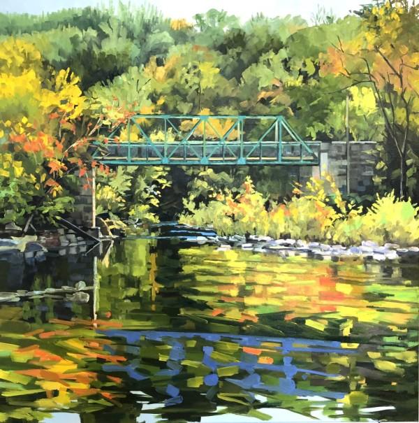 Bridge over the Brandywine CommissionBrandywine by Elaine Lisle