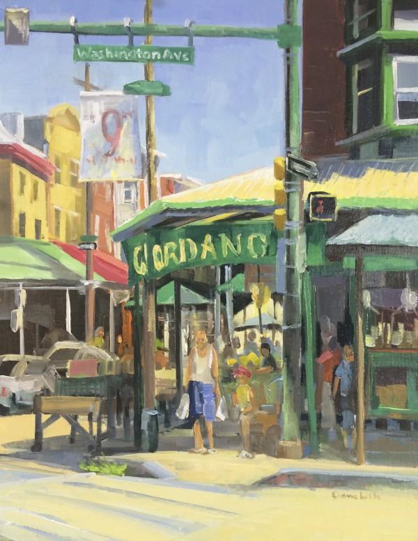 Hot Morning at Giordanos by Elaine Lisle