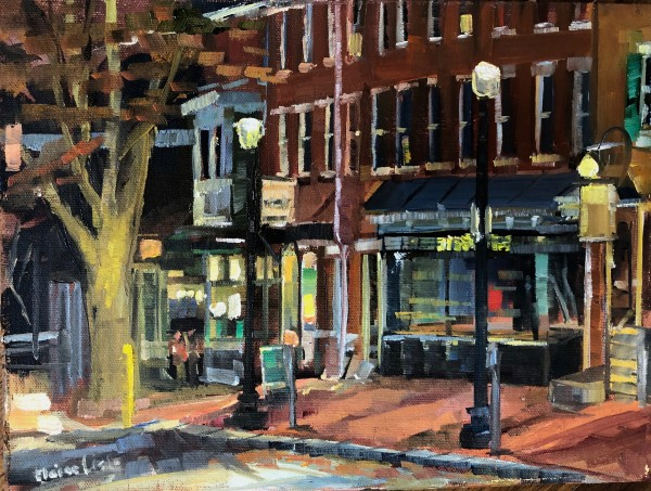 November evening Gay ST by Elaine Lisle