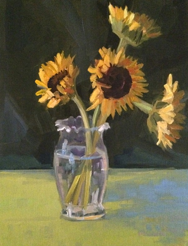 4 Stems of Sun by Elaine Lisle