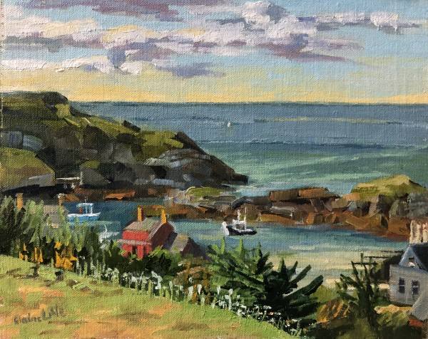 Monhegan Island Afternoon by Elaine Lisle