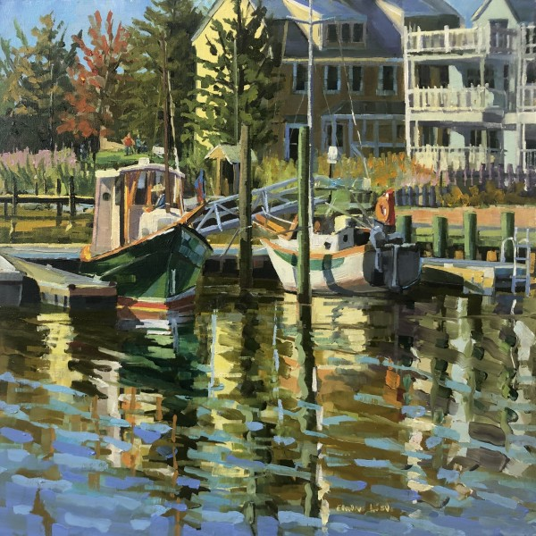 October Harbour, Chestertown by Elaine Lisle
