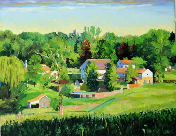 Idlewild Morning by Elaine Lisle