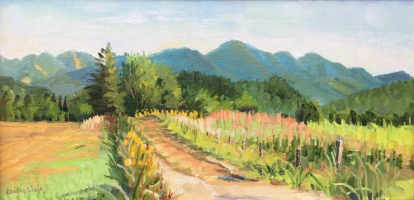 Path to the Mountains by Elaine Lisle
