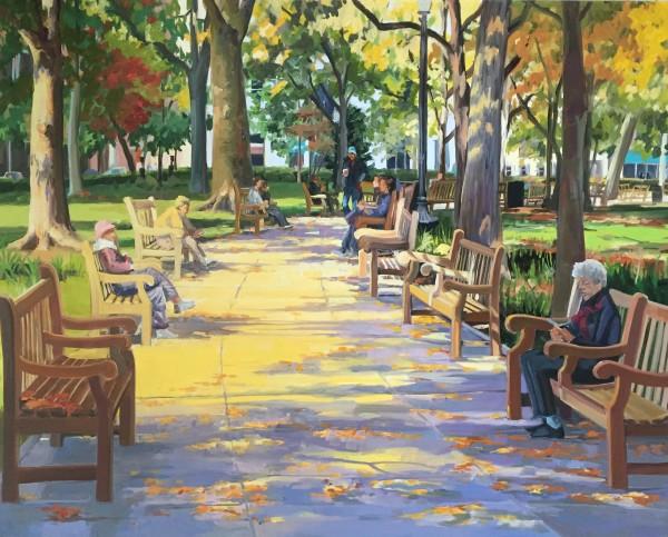 Rittenhouse Moment by Elaine Lisle