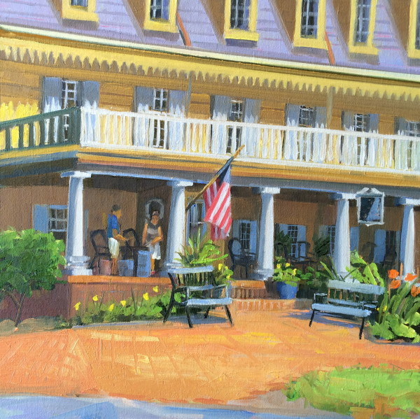 Robert Morris Inn by Elaine Lisle
