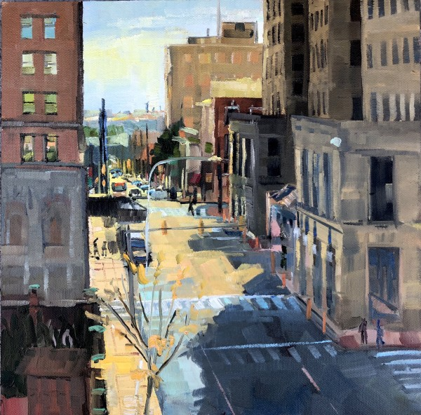 Rush Hour on Orange St by Elaine Lisle